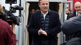 Nicolas Dupont-Aignan (FRANCOIS GUILLOT / AFP)