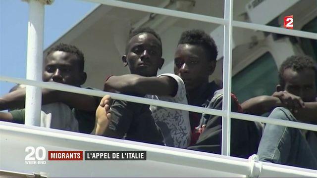 Migrants : l'appel de l'Italie