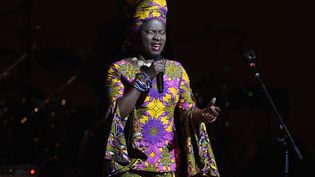 Angélique Kidjo sur la scène du Carnegie Hall, à New York, le 7 février 2019 (ILYA S. SAVENOK / GETTY IMAGES NORTH AMERICA)