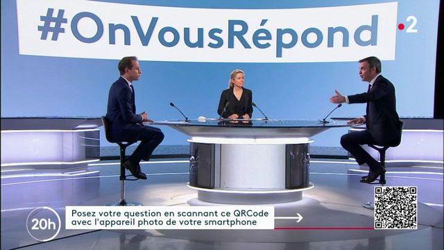 #ONVOUSREPOND Vaccination, port du masque à l'extérieur... Olivier Véran a répondu à vos questions