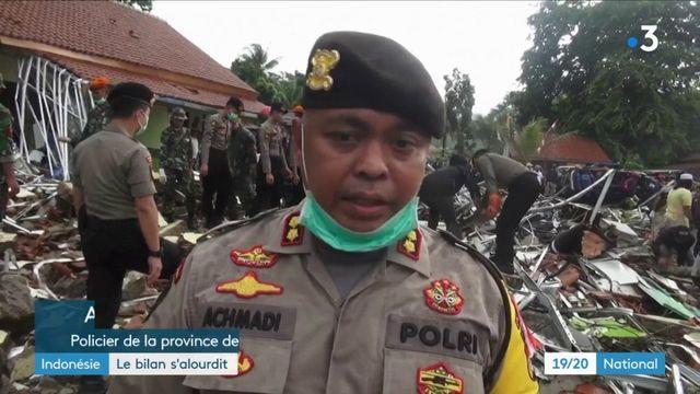 Indonésie : plus de 370 morts dans un tsunami