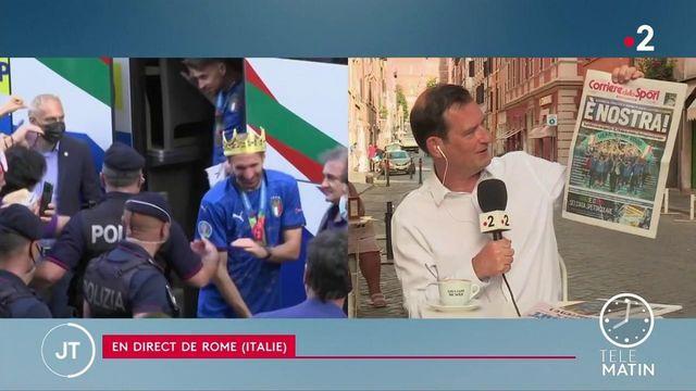 Euro 2021: les Italiens imposent leur liesse