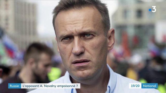 Russie : l'opposant Alexeï Navalny empoisonné ?