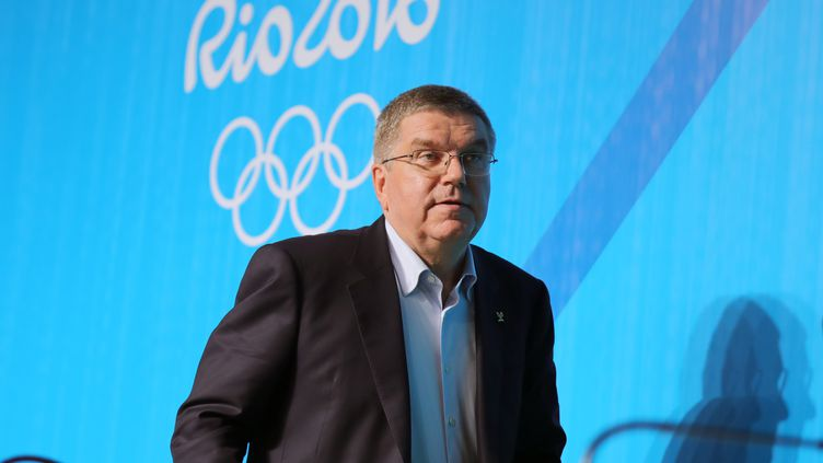 Le président du CIO Thomas Bach (MICHAEL KAPPELER / DPA)