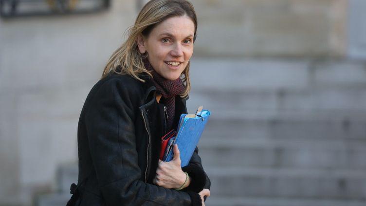 Agnès Pannier-Runacher, secrétaire d'Etat auprès du ministre de l'Economie, à l'Elysée, à Paris, le 6 janvier 2020. (LUDOVIC MARIN / AFP)