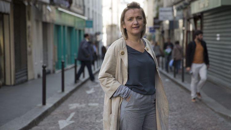 Florence Berthout, présidente du groupe Les Républicains au Conseil de Paris, le 7 octobre 2013, à Paris. (OLIVIER ARANDEL / MAXPPP)