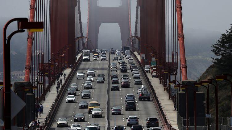 Les VTC ont augmenté les embouteillages dans la ville de San Franscico, selon une étude. (JUSTIN SULLIVAN / GETTY IMAGES NORTH AMERICA / AFP)