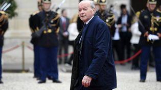 Jacques Toubon, le 14 mai 2017, à Paris. (ERIC FEFERBERG / AFP)