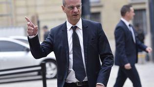 Le ministre de l'Education nationale, Jean-MichelBlanquer, le 1er septembre 2017, à l'hôtel Matignon à Paris. (ALAIN JOCARD / AFP)