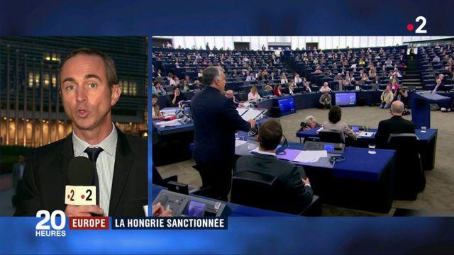 Europe : la Hongrie sanctionnée