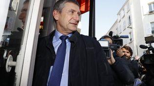 Frédéric Péchenard, le 12 octobre 2016, à Paris. (PATRICK KOVARIK / AFP)