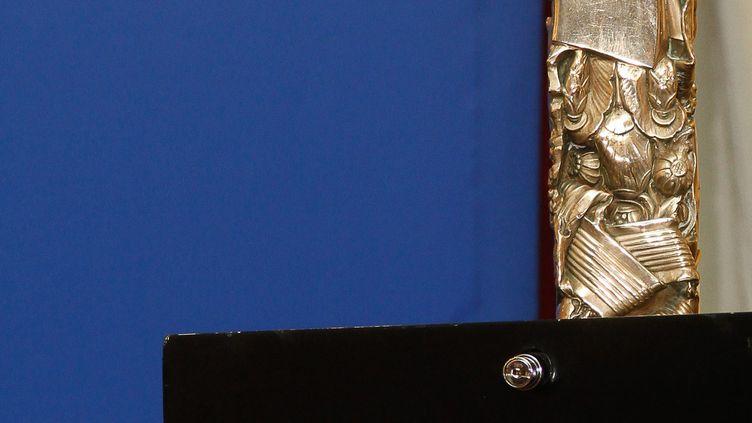 La statuette des César (Paris, 27 janvier 2012) (TIBOUL / MAXPPP)