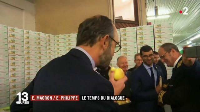 Emmanuel Macron et Édouard Philippe entrent dans le temps du dialogue