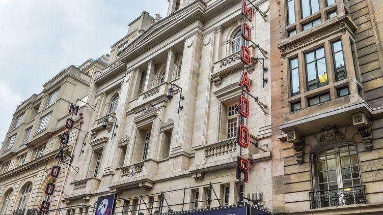 La façade du Théâtre Mogador à Paris (9e)  (ISA HARSIN/SIPA)