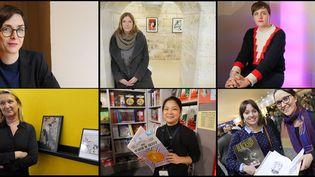 Portraits de femmes investies en BD, Angoulême 2016  (Laurence Houot / culturebox)
