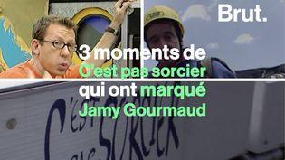 """VIDEO. """"Ce camion évoquait l'aventure"""" : Jamy Gourmaud raconte les 3 moments de C'est pas sorcier qui l'ont marqué (BRUT)"""