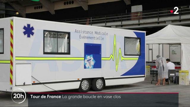 Tour de France : un dispositif sanitaire exceptionnel