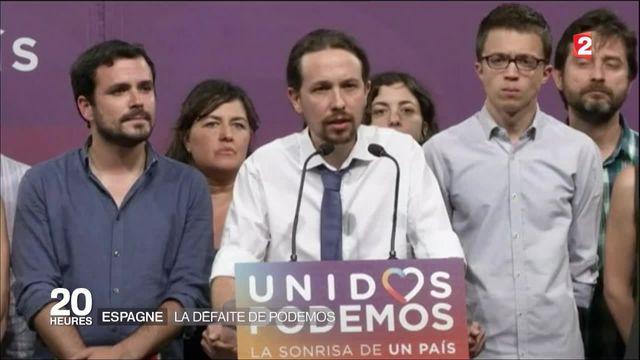 Législatives espagnoles : la défaite de Podemos