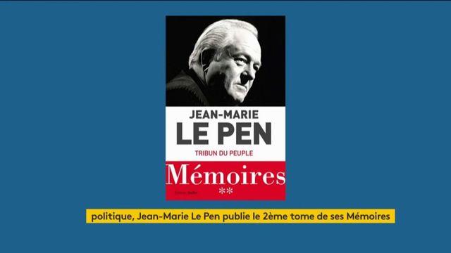Jean-Marie Le Pen publie le 2e tome de ses Mémoires