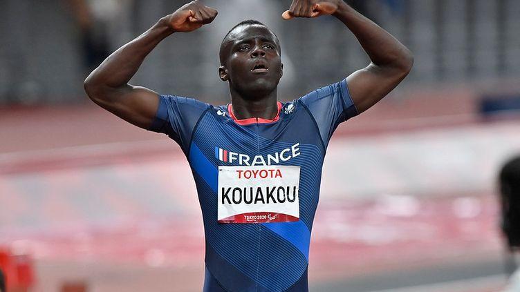 Charles-Antoine Kouakou remporte l'or sur le 400 m T20. (L.PERCIVAL - CPSF)