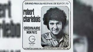 """Pochette de l'album """"Ordinaire"""" de Robert Charlebois. (London records of Canada)"""