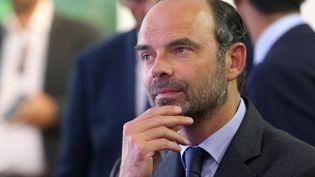 Le Premier ministre, Edouard Philippe, à la foire de Chalons-en-Champagne (Marne), le 1er septembre 2017. (FRANCOIS NASCIMBENI / AFP)