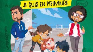 """""""Au secours je suis en primaire"""", de Odah et Dako, illustré par R. Garouste (404 EDITIONS)"""