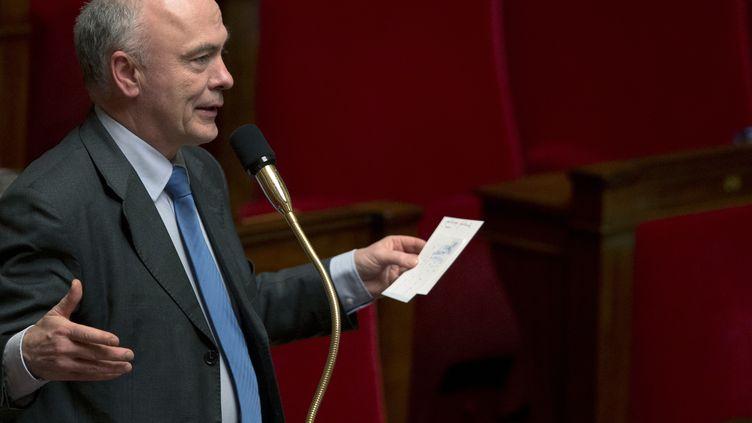Le député UMP Marc Le Fur, le 6 février 2013 à l'Assemblée nationale. (JOEL SAGET / AFP)