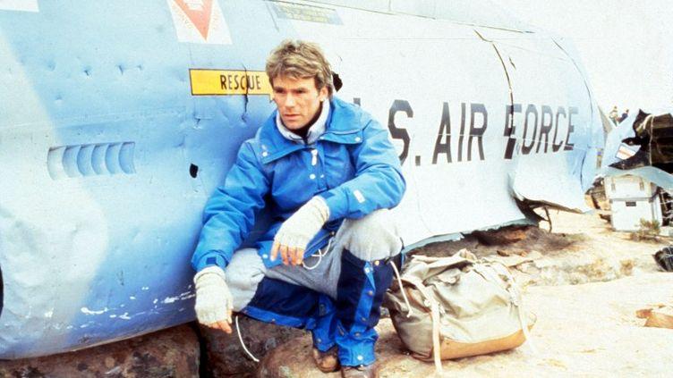 """La série télévisée """"MacGyver"""", en 1985. (PHOTO 12 / AFP)"""