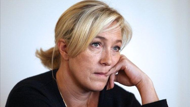 Marine Le Pen (RAYMOND ROIG / AFP)