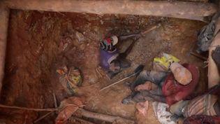 Ces mineurs ivoiriens s'empoisonnent au mercure (France 2)