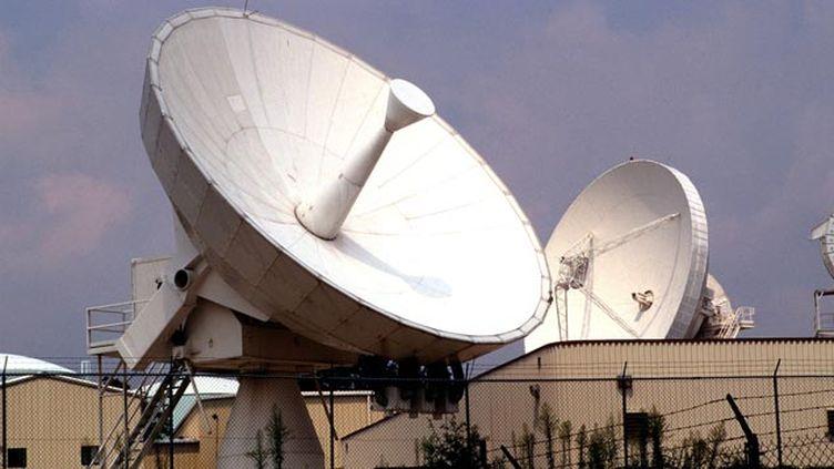 (Des antennes de la NSA du centre de Fort Meade, dans le Maryland © MAXPPP)