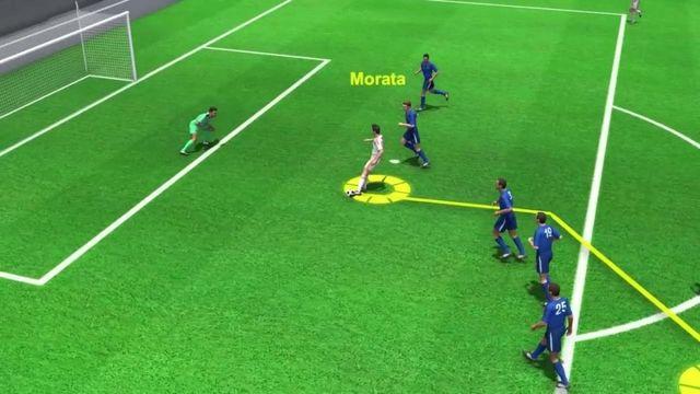 Italie-Espagne : l'égalisation d'Alvaro Morata