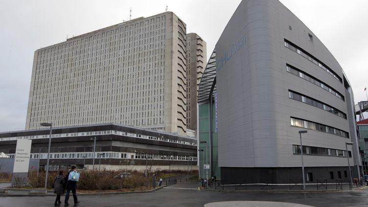 Le CHU de Caen (Calvados) - 21 janvier 2012 (KENZO TRIBOUILLARD / AFP)