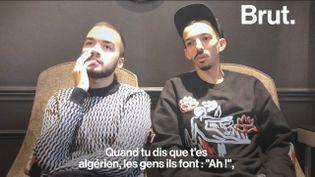 VIDEO. Les rappeurs Bigflo et Oli plaident pour une meilleure perception des immigrés en France (BRUT)