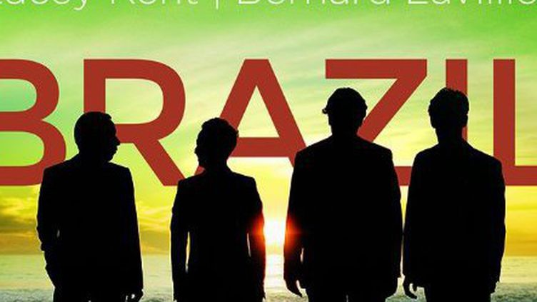 """La pochette de """"Brazil"""" du Quatuor Ebène  (DR)"""
