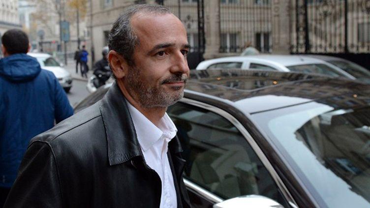 Thomas Savare, président du Stade Français  (FRANCK FIFE / AFP)