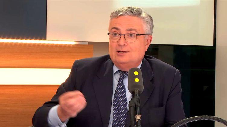 Jacques Creyssel, président de la Fédération du commerce et de la distribution. (FRANCEINFO)