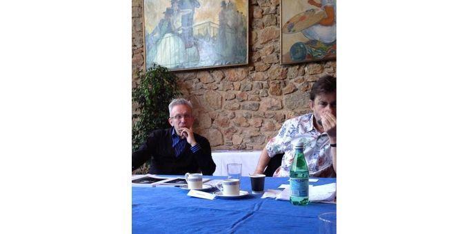 Jean-Paul Gaultier en pleine concentration...  (Gilles Jacob  (@jajacobbi))