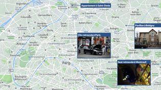 Un assaut a été méné dans un appartement de Saint-Denis (Seine-Saint-Denis), le 18 novembre 2015, dans le cadre de l'enquête sur les attentats du 13 novembre. (FRANCETV INFO)