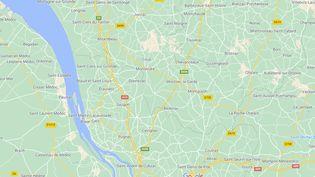 Marcel Hitayezu était prêtre dans une église de Montlieu-la-Garde (Charente-Maritime). (GOOGLE MAPS)