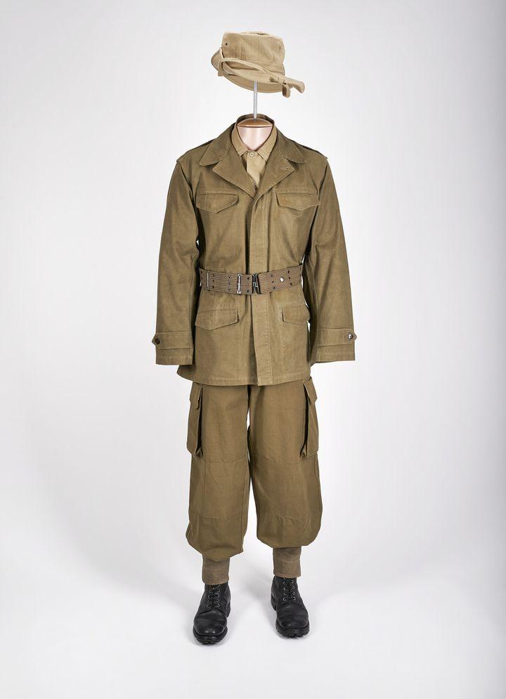 Mission mode : tenue de combat toutes armes, 1950-1962. Musée Légion étrangère  (Ville de Marseille. David Giancatarina)