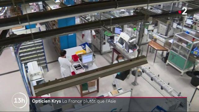 Industrie : Krys relocalise une partie de sa production en France