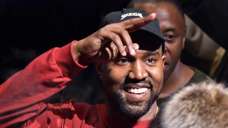 Kanye West le 11 février 2016 au Madison Square Garden de New York.  (Andrew H. Walker/WWD/REX/Shutterstock/ SIPA)