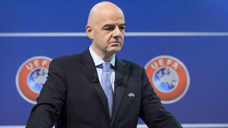 Le secrétaire général de l'UEFA Gianni Infantino