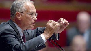 Gilles Carrez, député UMP et président de la commission des finances à l'Assemblée nationale, le 6 septembre 2011. (JOEL SAGET / AFP)