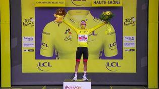 Tour de France 2020 : la prouesse de Tadej Pogačar (FRANCE 2)