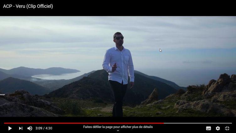 "Le rappeur corse ACP dans le clip ""Veru"" (ACP / Abd El Razak)"