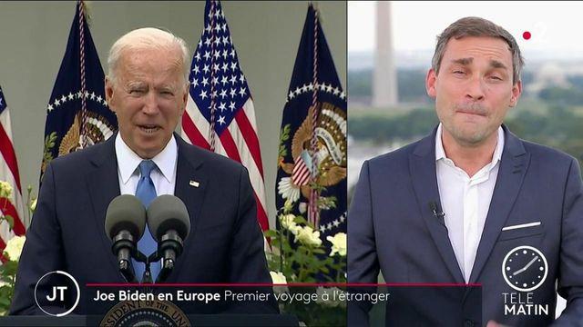 États-Unis: Joe Biden en déplacement en Europe pour faire front commun contre la Chiner