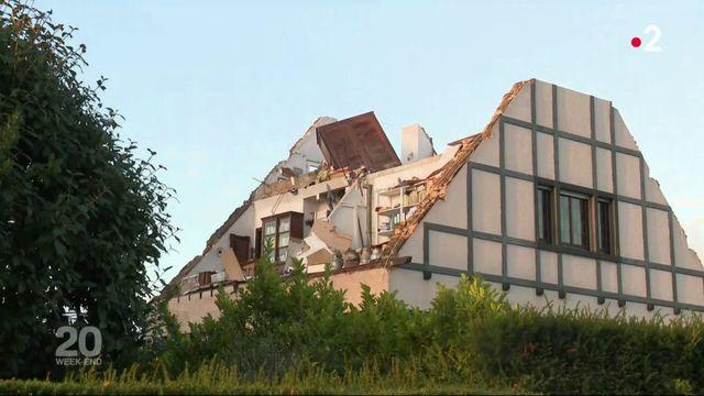 """VIDEO. """"Ca a duré une ou deux minutes, pas plus"""" : une tornade fait d'importants dégâts dans l'est de la France et au Luxembourg"""